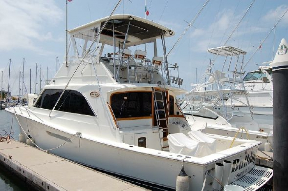 1987 Ocean Yachts Sports Fisher