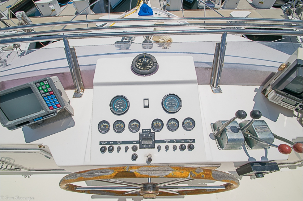 1985 DeFever 40 Offshore Cruiser
